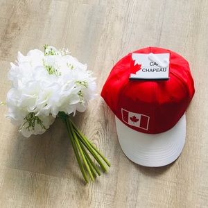 New With Tags Canada Cap. Red Colour. Maple leaf.